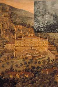 Dipinto tratto da una stampa antica