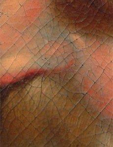 Craquelure dipinto su tela