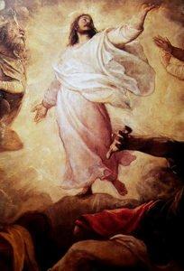 Tiziano, Trasfigurazione, olio su tela cm 245x295