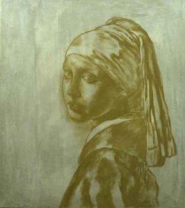 Vermeer disegno soggiacente